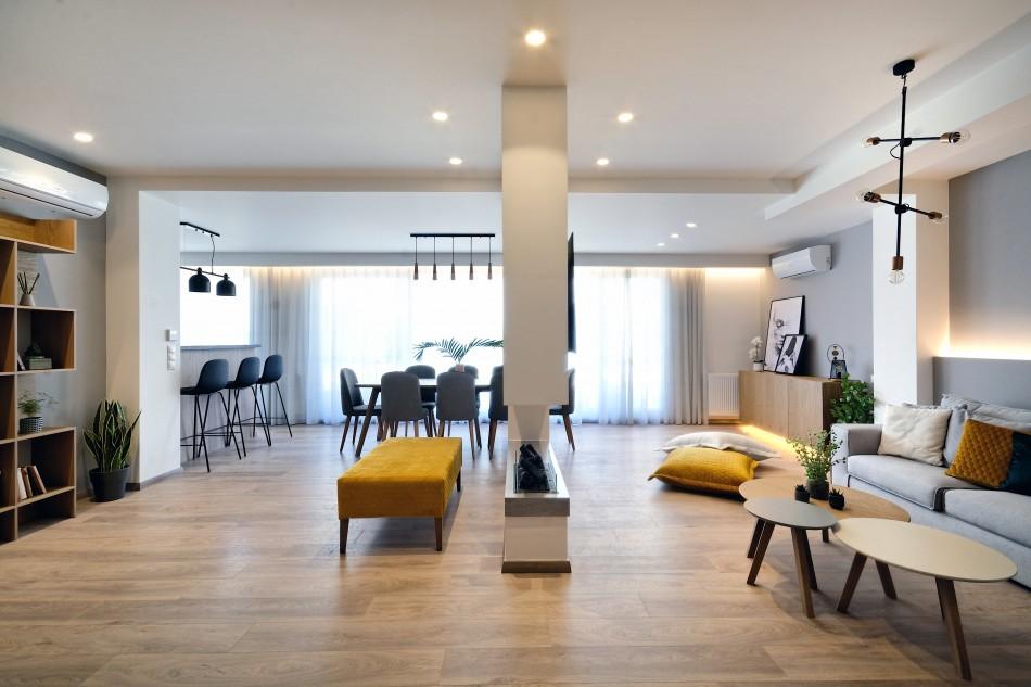 οροφοδιαμέρισμα στα Ιλίσια | με κοσμοπολίτικο αέρα